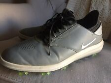 Nike Air Zoom Direct Mens Golf Shoes Grey Black 923965-002 Spikes Sz 10.5