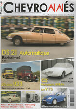 CHEVRONNES 12 CITROEN DS21 PALLAS AUTOMATIQUE CITROEN U23 CX AX TOUCH DELVAUX