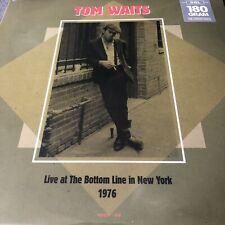 "TOM WAITS ""LIVE AT THE BOTTOM LINE NEW YORK 1976"" NEW SEALED 2 X LP VINYL"