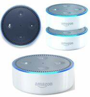 Amazon Echo Dot Multimedia Bluetooth Wireless Smart Speaker With Alexa - White