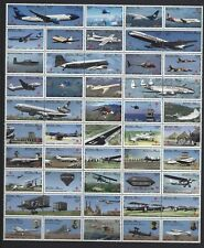 MEXICO 2009 AIRCRAFT AVIATION IN MEXICO COMPLETE SET UNMOUNTED MINT, MNH