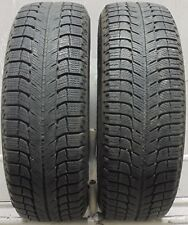2 1956515 Michelin X Ice 5mm 195 65 15 Winter Snow Used Part Worn Tyres x2 MS