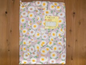 Vintage Japanese Onsen Hot Spring Resort Flannel Nemaki Kimono Womens M: Aug21-A