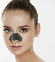 6 NOSE PORE STRIPS Blackhead Removal Face Detox Cleansing Spots Removal Charcoal