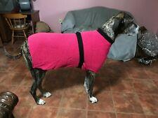 Pink Wrap Dog Sweater XXL