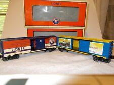 """""""2"""" LIONEL DEALER APPRECIATION BOX CARS"""