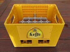 Belgian Plastic Beer Crate (Leffe, Belgium)
