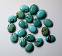 Great Lot Natural Tibetan Turquoise 4X6 mm Oval Cabochon Loose Gemstone