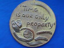 Vintage chamotte decoration ( Time is our only property )