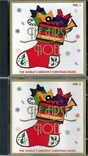 FIRST NOEL Vol 1&2 CD Classic Great Christmas SKATERS WALTZ FROSTY THE SNOWMAN