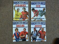 Rare Set of 4 X Manchester United 2003 Usa Pre-Season Tour Football Programmes