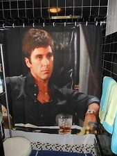 Scarface The World Is Yours  Shower Curtain Al Pacino  Brian Dipalma