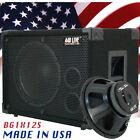 1X12 Bass Guitar Speaker Cabinet 350W 8 Ohms Black Carpet 440LIVE BG1X12S Bcp