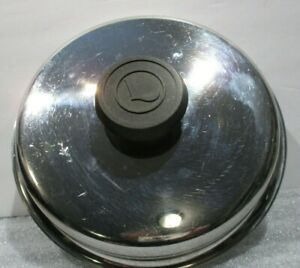 """LIFETIME Stainless Steel 3 Quart Lid Only 8.5"""""""