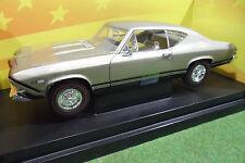 CHEVROLET CHEVELLE SS 396 au 1/18 d AMERICAN MUSCLE ERTL 36382 voiture miniature