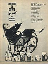 PUBLICITE ADVERTISING  1964   ARVAL   produits de détente
