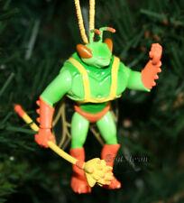 NEW Disney TOY STORY TWITCH GREEN ORANGE BUG WINGS STAFF Christmas Ornament PVC