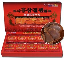 Korean Red Ginseng Root Slices 200g(10ea x 20g) Saponin, Panax