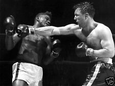Floyd Patterson George Chuvalo Fight Action 10x8 Photo