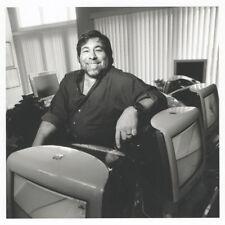 Pubblicità Poster APPLE MAC eMac - Steve Wozniak - WOZ