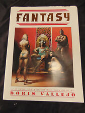 Boris Vallejo Signed Fantasy Portfolio Art Blackthorne 6 Plates Prints Comics SN