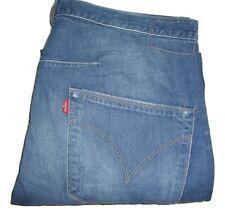 Mens LEVI'S ENGINEERED TWISTED Blue Denim Jeans W34 L32