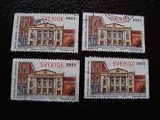 SUEDE - timbre yvert et tellier n° 2024 x4 obl (A29) stamp sweden (Z)