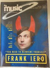 The Music MAGAZINE October 2016 Features Frank Iero