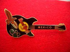 HRC Hard Rock Cafe Mexico Black Rickenbacker Guitar + Bird LE