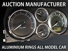 Land Rover Freelander FL 2003-2005 Polished Aluminium Chrome Gauge Rings 4 pcs