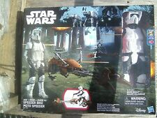 Star Wars: Return of the Jedi Speeder Bike and Biker Scout-See Note