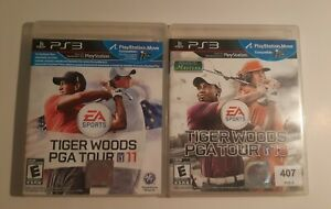 Tiger Woods PGA Tour 11 & 13 * Playstation 3 * Complete