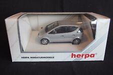 Herpa Mercedes-Benz A-Class 1:43 silver (JvM)