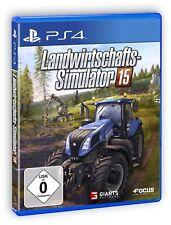 FARMING-SIMULATOR 15 PS4 Playstation 4 NEUF + EMBALLAGE ORIGINAL