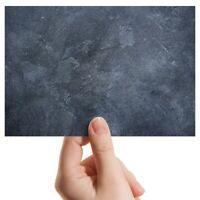 "Photograph 6x4"" - Dark Stone Slate Wall Colour Art 15x10cm #21449"