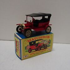 VINTAGE LESNEY MATCHBOX Y-1 MODELS OF YESTERYEAR 1911 MODEL T FORD *MINT IN BOX*