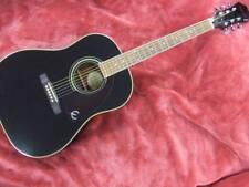 Epiphone AJ-200 EB Black Acoustic Guitar Folk Guitar used Excellent+++ condition