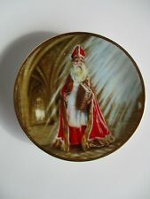 Duncan Royale 1983 History of Santa Claus- St. Nicholas Limited Miniature Plate