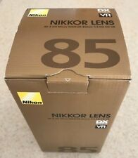 New Free Shipping Nikon AF-S DX Micro NIKKOR 85mm F3.5 G ED VR JAA637DA
