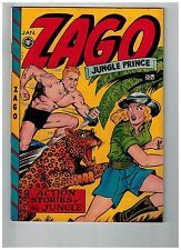 Zago Jungle Prince # 3 NM- 1949 Fox Features Comic Book GOLDEN AGE BEAUTY JJ1
