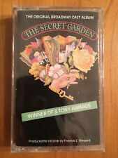 NEW!!! SEALED The Secret Garden BROADWAY MUSICAL Cassette Columbia US 1991