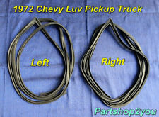 1972-1980 Chevy LUV Pickup Truck 2 WD 4 WD  Door weatherstrip-seal  2 PCS L& R