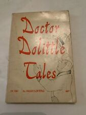 1968 Doctor Dolittle Tales by Hugh Lofting Scholastic 1st Printing Softcover