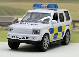 4x4 Police Car Personalised Plate Boys Toy Sound Lights Boxed Xmas Present Boxed