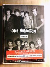 CD LONG BOX / ONE DIRECTION FOUR / EDITION SPECIALE AVEC 4 CARTES POSTALES /NEUF