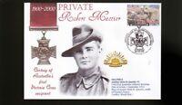 AUSTRALIAN ANZAC VICTORIA CROSS 100th ANNIV COV, Pvt ROBERT MACTIER
