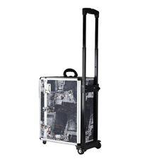 Trolley Pilotkoffer Reisetrolley Handgepäck Geschäftskoffer mit Jeans-Motiv