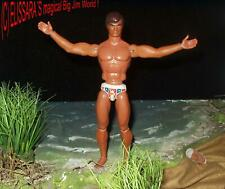 Big Jim - GOLD MEDAL - Mattel 1971, U.S. Foreign Patented , Hong Kong - NUDE