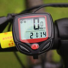 Waterproof Multifunction Bicycle Monitor - Speed MPH / KPH, Trip Distance, Clock