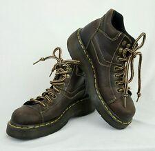 Womens Doc Marten Leather Boots Shoes UK Size 5 US Size 7 Brown See Description